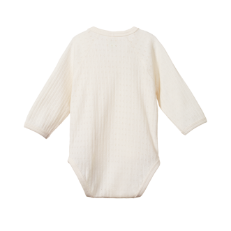 Pointelle Kimono Bodysuit