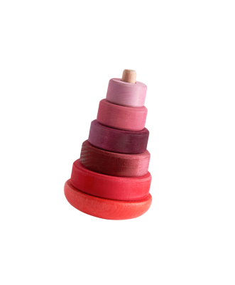 Red/Pink Wobble Tower