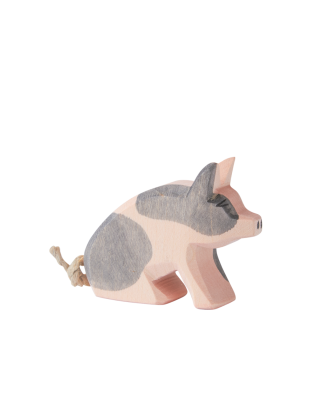 Wooden Spotted Piglet