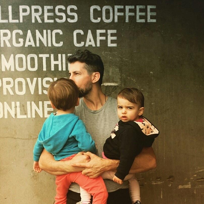 fatherhood: mike priddy