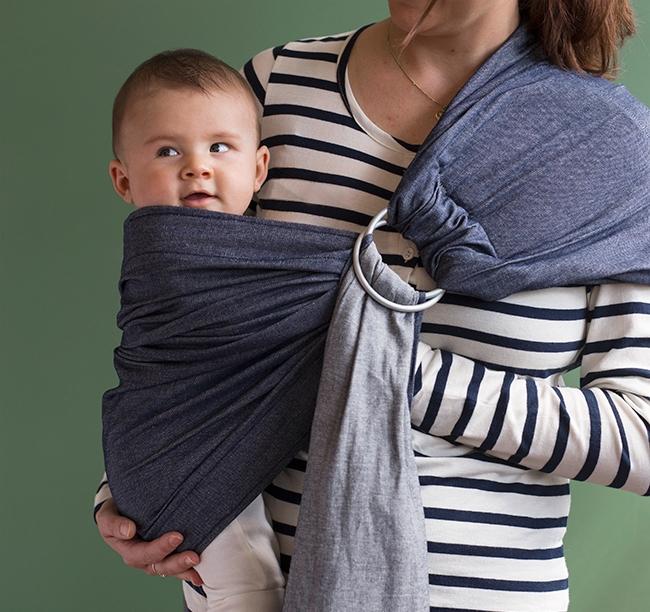 babywearing: nature baby ring sling