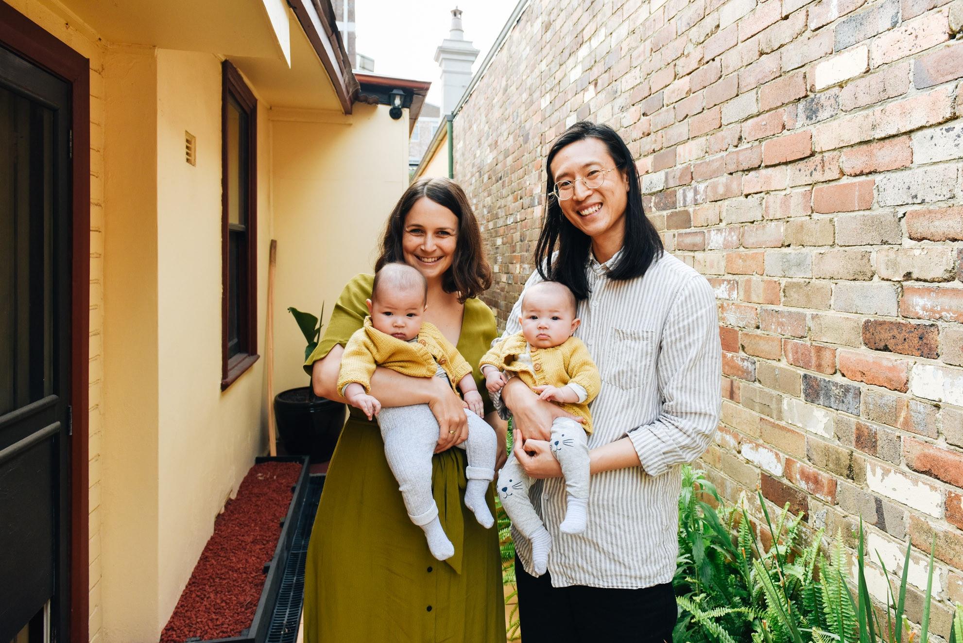 motherhood: lucy leong