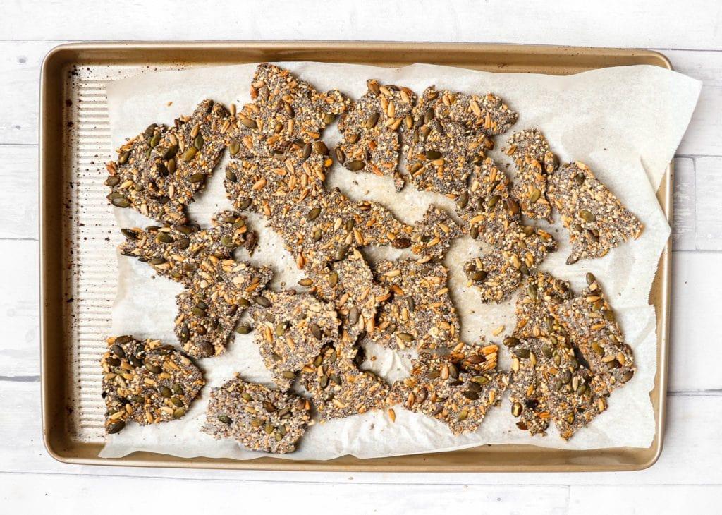 recipe: super seed crackers