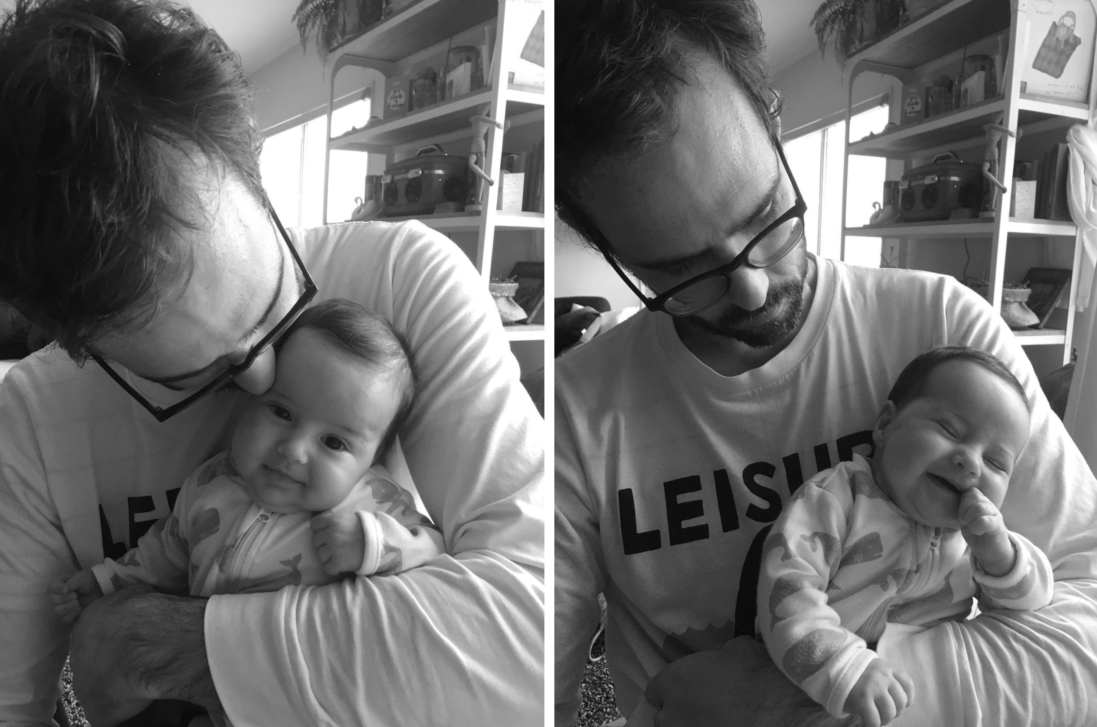 fatherhood: nick morrison